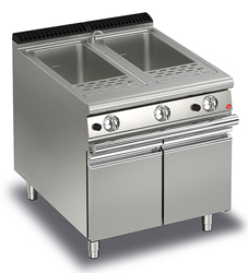 Baron Queen7 Q70CP/G800 Double Well Gas Pasta Cooker