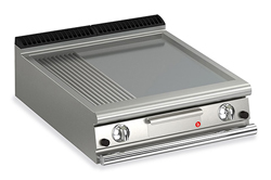 Baron Queen7 Q70FT/G820 Smooth / Ribbed Mild Steel Griddle Plate