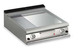 Baron Queen7 Q70FTT/G825 Smooth / Ribbed Chromed Griddle Plate