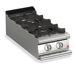 Baron Queen7 Q70PC/G4005 2 Burner Gas Cook Top