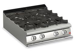 Baron Queen7 Q70PC/G8005 4 Burner Gas Cook Top