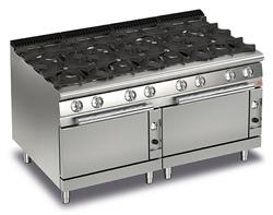 Baron Queen7 Q70PCF/G1605 8 Burner Double Oven Gas Range