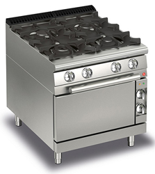 Baron Queen7 Q70PCF/G8005 4 Burner Gas Oven