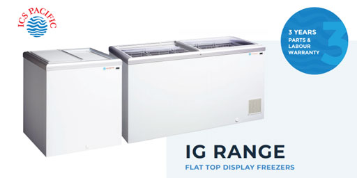 Stylish Display Chest Freezers