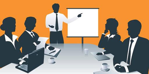 Creating a marketing presentation