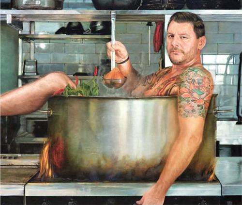 Cooking with Manu