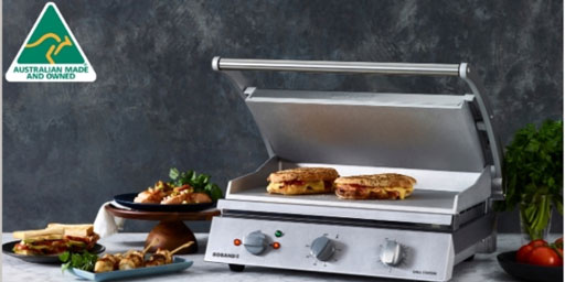 The benchmark for commercial contact grills
