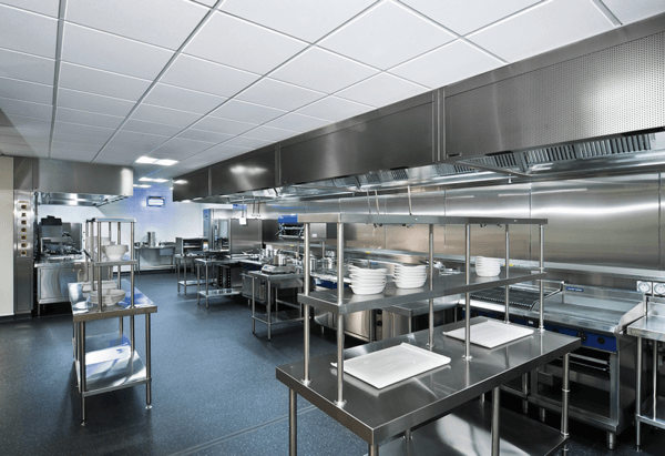 So Why Has Stainless Steel become the standard in Commercial Kitchens?