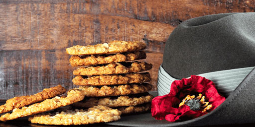 Baking a classic Anzac Biscuit this Anzac Day
