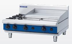 Blue Seal G516B-B Gas Cooktop 2 Burner 600 Griddle Bench Model