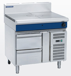 Blue Seal G57-RB Gas Target Top Refrigerated Base