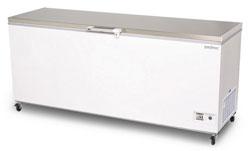 Bromic CF0700FTSS 675L SS Top Chest Freezer