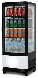 Bromic CT0100G4BC 98L Counter Top Merchandiser