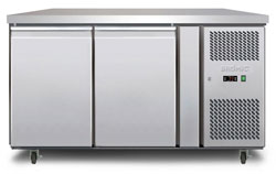 Bromic UBC1360SD 282L 2 Solid Door Underbench Chiller