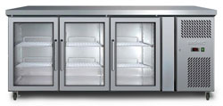 Bromic UBC1795GD 417L 3 Glass Door Underbench Chiller