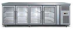 Bromic UBC2230GD 553L 4 Glass Door Underbench Chiller