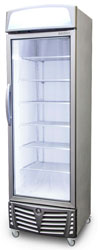Bromic UF0440LS LED 440L 1 Door Display Freezer