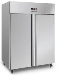 Bromic UF1300SDF 1300L 2 Door SS Gastronorm Storage Freezer
