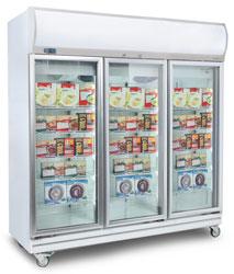 Bromic UF1500LF 1507L LED Display Freezer