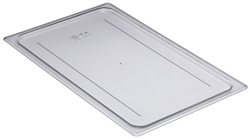 Cambro 10CWC Camwear Full Size GN Polycarbonate Food Storage Pan Flat Cover, Pack of 6