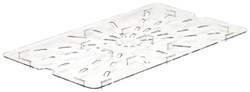 Cambro 10CWD Camwear Full Size GN Polycarbonate Food Storage Pan Drain Shelf, Pack of 6