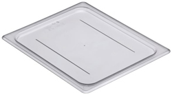 Cambro 20CWC Camwear Half Size GN Polycarbonate Food Storage Pan Flat Cover, Pack of 6