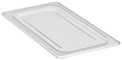Cambro 30CWC Camwear One Third Size GN Polycarbonate Food Storage Pan Flat Cover, Pack of 6