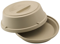 Cambro HK93CW Base & Cover for 22cm Plate Heat Keeper, Pack of 6