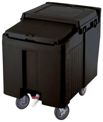 Cambro ICS125L Sliding Lid 57Kg Capacity Short Ice Caddy