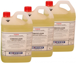 ConvoClean CC15L Oven Cleaner 3 x 5 Ltr Pack