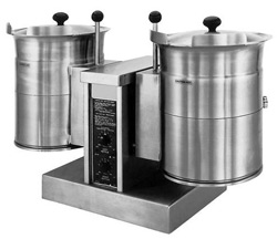 Cleveland TKET-12-T Electric Table Top Twin 45 Ltr Tilting Steam Kettle