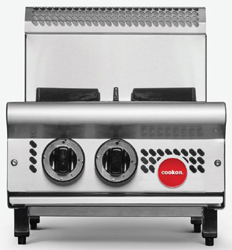 Cookon CT2-FF Counter Model 2 Burner with Flame Failure