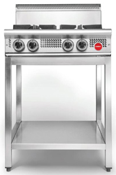 Cookon CT4-3G Free Standing 2 Burners 300 Plate on SS Stand