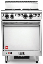 Cookon GR4-3G 2 Burners 300 Plate Static Oven