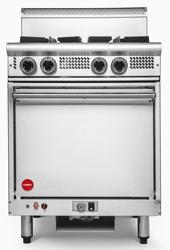 Cookon GR4 4 Burners Static Oven