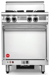 Cookon GR4C-FF 4 Burners Convection Oven with Flame Failure