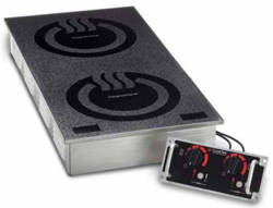 Cooktek Heritage MCD3502F 30A Double Hob Drop-In Induction Unit