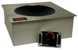 Cooktek Heritage MWDG2500 10A Single Hob Drop-In Wok Induction Unit