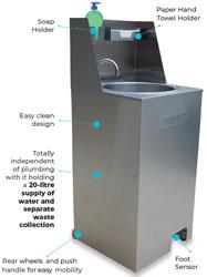 Eswood Mobile Hand Washing Station