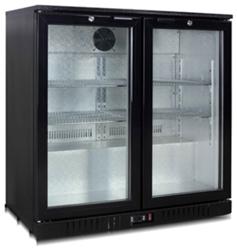 Exquisite UBC210 Two Swing Doors Backbar Display Refrigerator