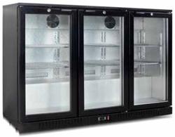 Exquisite UBC330 Three Swing Doors Backbar Display Refrigerator