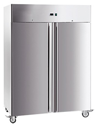 Exquisite GSF1410H Two Solid Doors Upright Storage Freezer