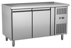 Exquisite USC260H Two Solid Doors Underbench Storage Refrigerator