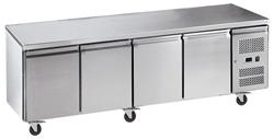 Exquisite USC550H Four Solid Doors Underbench Storage Refrigerator