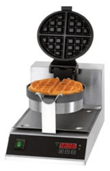 Benchstar WB-03D Cast Iron Round Rotating Waffle Makers
