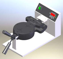 Benchstar WB-04A Cast Iron Round Rotating Waffle Makers