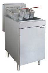 Frymax RC400TE 4 burner Twin Pot Gas fryer