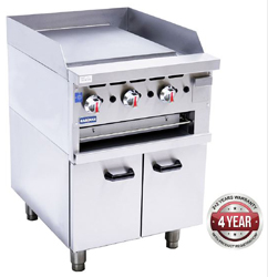 Gasmax GGS-24 800 Series Griddle Toaster