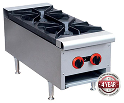Gasmax RB-2E 800 Series Gas 2 Open Burner Cook top