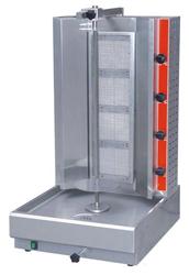 Gasmax RG-2 4 Burner Gas Doner Kebab Unit